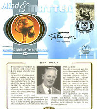 5 SEPTEMBER 2000 MIND AND MATTER BENHAM FDC SIGNED BY JOHN TIMPSON