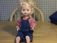 """VINTAGE 1978 BABY GROW UP MATTEL DOLL 16 1/2"""" -18"""""""