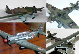 Yakovlev Yak-18 or -12 or UT-1 or UT-2 Soviet Airplane diecast DeA 56 26 39 59