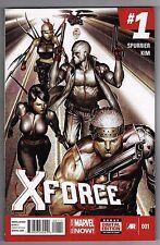 X-FORCE #1 - ROCK-HE KIM ART & COVER - SIMON SPURRIER SCRIPTS - 2014