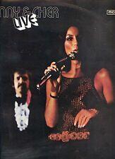 SONNY & CHER live GERMAN 1971 EX LP