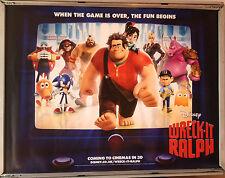 Cinema Poster: WRECKIT RALPH 2013 (Main Quad) John C Reilly Jack McBrayer