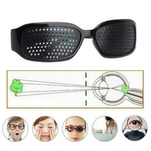 Eye Exercise Care Pinhole Pin Hole Glasses Vision Improve Eyesight E2A5