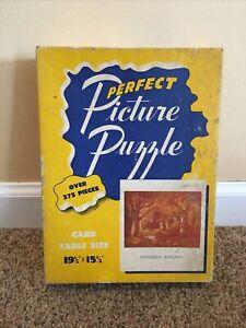 """Vintage 50's Perfect Picture Puzzle #25 """"Gorgeous Autumn"""" 375+ Pieces   #A69"""