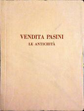VENDITA PASINI, LE ANTICHITÀ - GALLERIA SCOPINICH - RIZZOLI