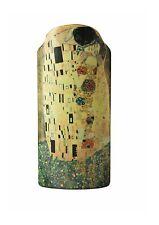 Klimt - The Kiss Silhouette d'art Vases John Beswick   NEW in Gift Box