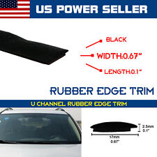 Rubber Seal Car Windshield Trim Window Sunroof Protect Strip Waterproof By Yard
