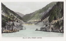 Hell's Gate Fraser Canyon BOSTON BAR BC Canada Gowen Real Photo Postcard 58