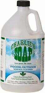Concentrated Indoor/Outdoor Surface Cleaner by Charlies Soap, 128 oz 1 pack