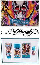 ED HARDY by CHRISTIAN AUDIGIER Hearts & Daggers Geschenkset  UVP 75$ TOP ANGEBOT