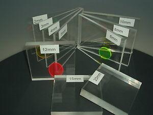 5 mm, 800 x 600 mm Acrylglas Zuschnitt Plexiglas Zuschnitt 2-8mm Platte//Scheibe klar//transparent