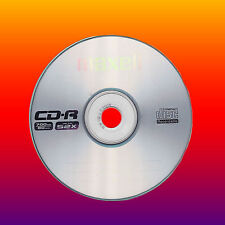 5 Maxell CD-R CDR 52X BLANK CD DISCS IN SLEEVES 700mb