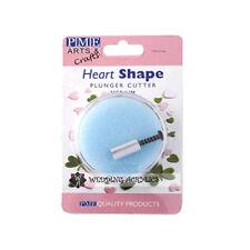 Stampini PME Medi Forma Cuore Plastica Glassatura Punta Stampo Torte Decorazioni