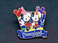 Disneyland Resort Mickey Mouse Minnie Balloons Disney Travel Company DLR Pin