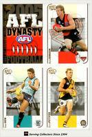 2005 Select AFL Dynasty Trading Card Series Full Base Card Set (194)