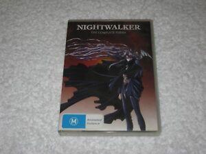 Nightwalker - The Complete Series - 3 Disc - VGC - Manga - Anime - R4 - DVD