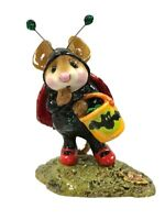 Wee Forest Folk Mouse Figurine BUG-A-BOO Ladybug Costume M272 Halloween Mint!