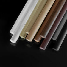 Viertelstab PVC Winkelprofil 13x13mm Abschlussleiste Wandleiste Winkel TOP WARE!