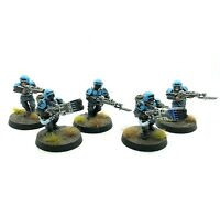 Warhammer 40k - Astra Militarum Infantry - Painted Cadian Shock Troops (LOT A)