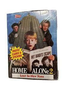 1992 Topps Home Alone 2 Lost in New York Trading Cards Packs Box Factory Sealed