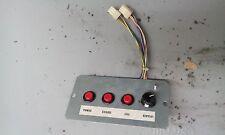 Sega Death Crimson Ox arcade test switch assembly