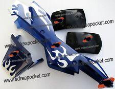 Kit Carénage type 1 bleu / blanc Pocket Quad 47 / 49cc