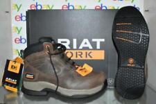 """Ariat Men's Contender 6"""" Steel Toe Work Boots Brown 10027338 NIB"""