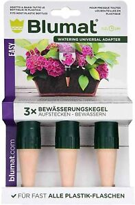 Blumat Bottle Adapter (3 pack) - Automatic Self Watering for Indoor Houseplants