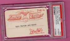 1983 George Brett Pine Tar Full PSA Ticket Pass KC Royals/B.Martin/Righetti NH