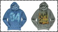 Urban Pipeline Men's S M L XL Hoodie Sweatshirt Blue 84 Grey Palm Tree NEW