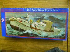 GLENCOE COAST GUARD USCG RESCUE BOAT PLASTIC ASSEMBLY MODEL 1/48TH, SCALE, NEW