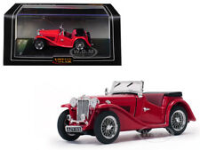 MGTC MG OPEN NO TOP RED 1/43 DIECAST MODEL CAR BY VITESSE 29115