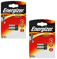 GENUINE ORIGINAL 4X ENERGIZER A27 ALKALINE 12V BATTERY 27A MN27 GP27A E27A EL812