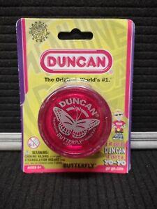Vintage Duncan Red Butterfly Yo-Yo, New in Original Package, Unopened