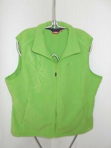 grüne Fleece Weste, Gr. 3XL, von Vittorio Rossi