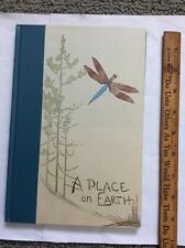 A Place On Earth, Gwen Frostic Signed Book Of Poems And Prints