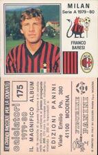 CALCIATORI PANINI 1979/80*RARA FIGURINA STICKER N.175*MILAN,FRANCO BARESI*NEW