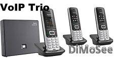 ►► Gigaset S850A Go m. AB / IP + 2 Mobilteile S850H Duo VoIP NEU/OVP ◄◄