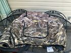 Cabela's Dog Kennel Cover - TrueTimber DRT size L camo Crate Insulated DEFECT