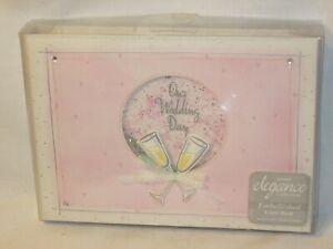 """Amscan Wedding Guest Book Spiral Bound Home & Garden Pink 6""""x8.5"""""""