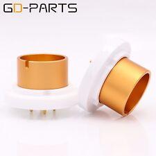 EIZZ High End Jumbo 4pin Ceramic Tube Socket for 845 211 805 FU5 810 Tube Basex2