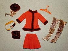 Barbie:  VINTAGE Complete WINTER WOW Outfit!