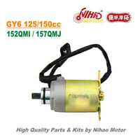 TZ-01 125cc 150cc Starter Motor GY6 Parts Chinese Scooter Motorcycle 152QMI