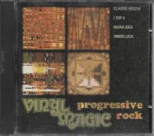 """ROCCHI  I TOP 4  NUOVA IDEA  SIMON LUCA - RARO CD """" VINYL MAGIC PROGRESSIVE ROCK"""