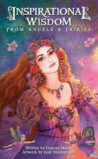 INSPIRATIONAL WISDOM FROM ANGELS & FAIRIES TAROT Deck Card Set oracle cards