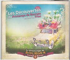 LES DECOUVERTES DU PRINTEMPS DE BOURGES édition 2008 CD ALBUM neuf