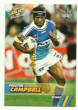 2008 NRL CHAMPIONS GOLD COAST TITANS PRESTON CAMPBELL COMMON 54 CARD FREE POST
