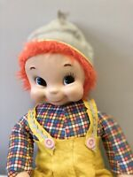 "Vintage Rushton Boy Jack Rubber Face 22"" Doll"