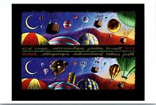 "4""x6"" Postcard Poster card 28th Albuquerque Balloon Fiesta 1999 Hot Air Repro NM"