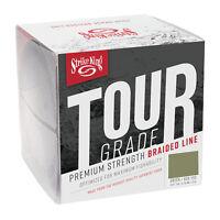 Strike King Tour Grade Braid Green Braided Line Superbraid Lo-Vis Fishing Line